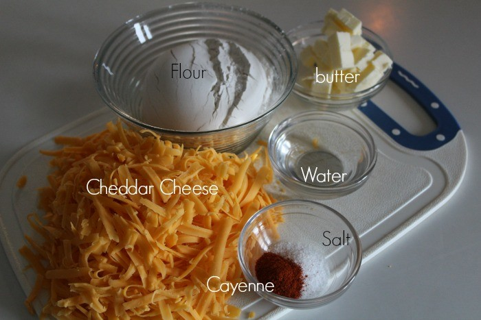 cheddar cheese cracker ingredients