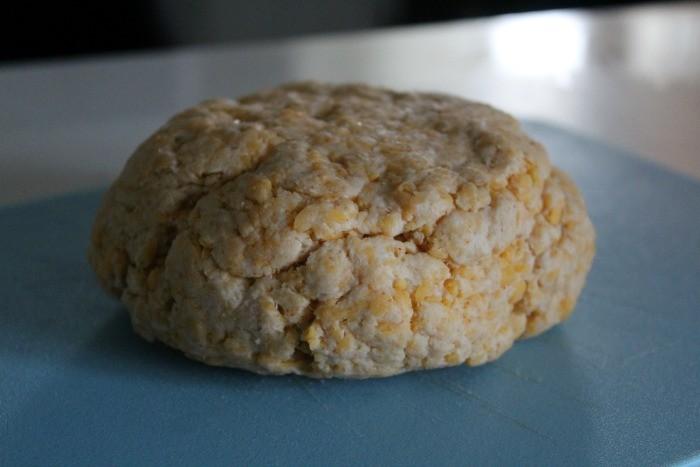 cheddar cheese dough