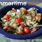 summertime quinoa salad
