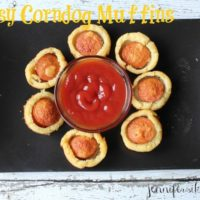 Mini Cheesy Corndog Muffins