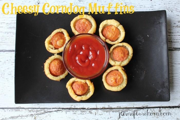 PAN cheesy corndog muffins