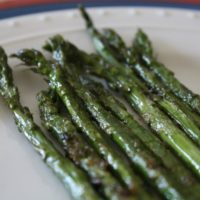 Brown Butter and Lemon Baked Mahi Mahi w/Roasted Asparagus