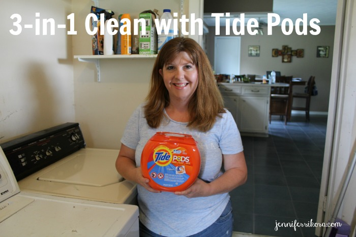 3-in-1 Clean with Tide Pods