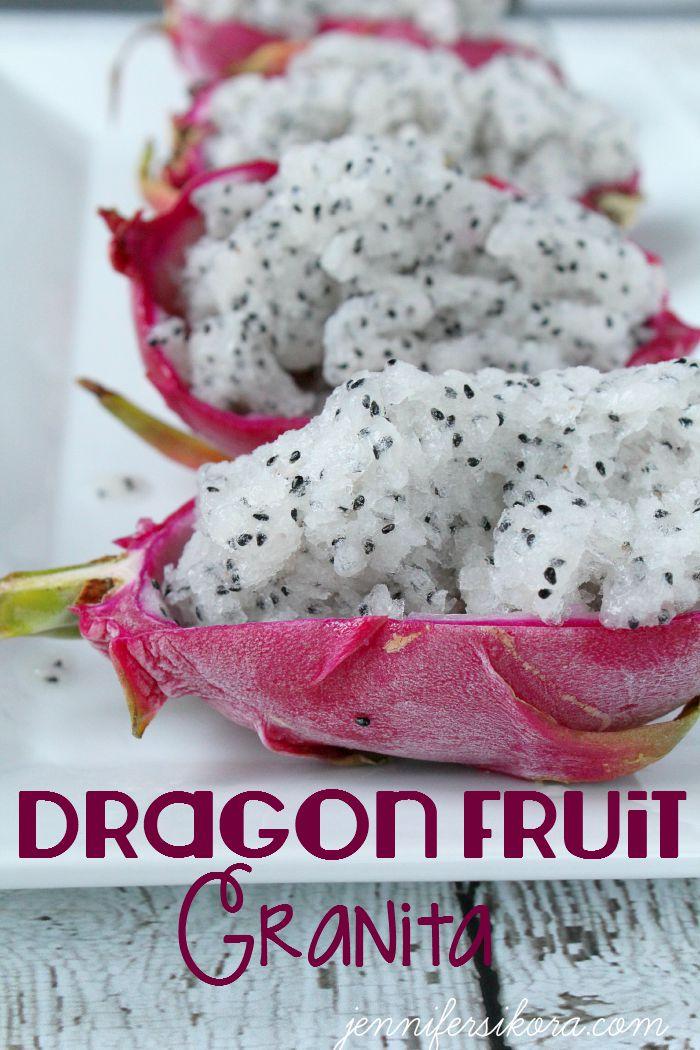 Dragon Fruit Granita 1