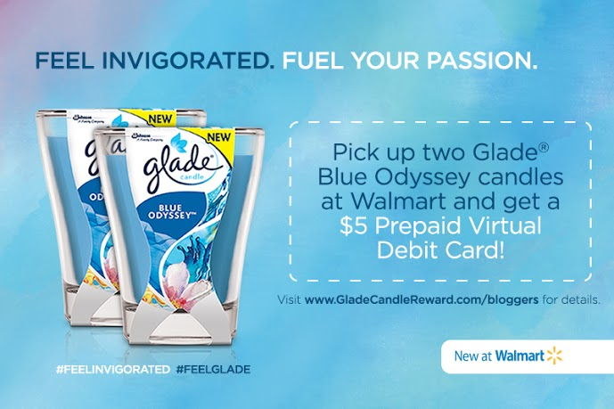 Make Your Home Smell Amazing with the Glade Blue Odyssey Candle