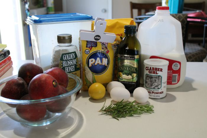 olive oil cake ingredients