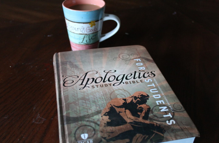 Gifting Your High School Student a New HSCB Apologetics Bible