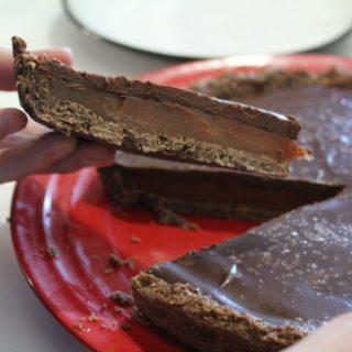 Sweet Saturdays - Chocolate Salted Caramel Tart