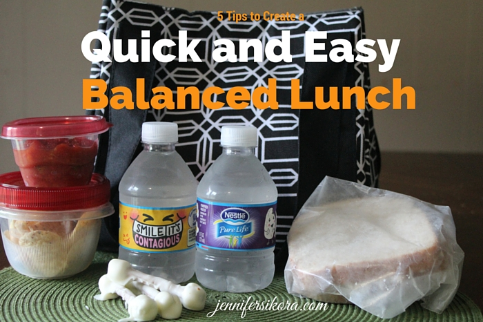 5 Tips to Create an Easy and Balanced Lunch on the Go (plus a few ways to get your child to drink more water)