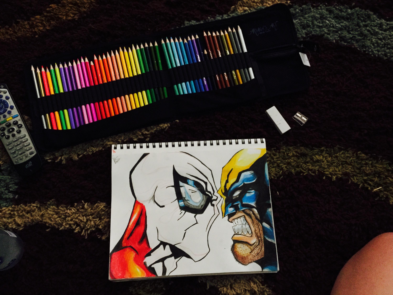 Ariana's Art 48 Artist Quality Colored Pencils Set