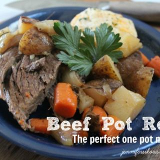 Delicious Beef Pot Roast and a New Nutrish Flavor for Tucker