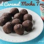 salted caramel mocha truffles