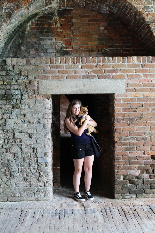 Fort Morgan is pet friendly