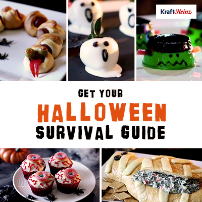 Rattlesnake Bite Hot Dog Appetizers (and a Halloween Survival Guide Full of Tips and Recipes)