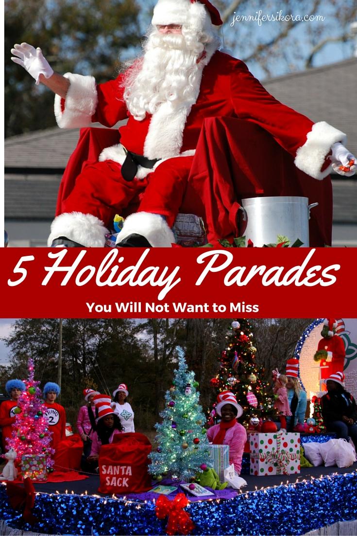 5 Holiday Parades