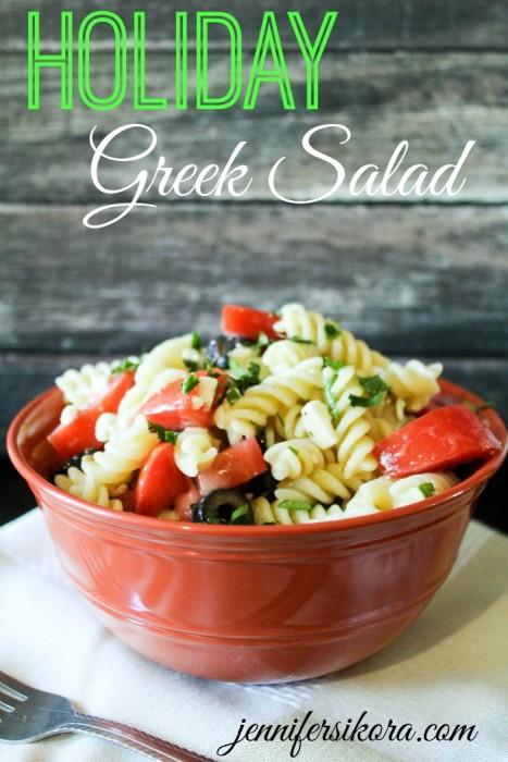 Holiday Greek Salad