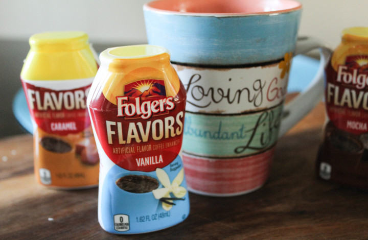 Waking Up With Folgers Flavors (plus giveaway)