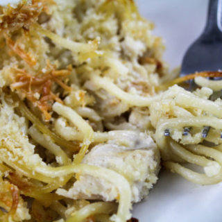 Turkey Tetrazzini - the perfect dish for turkey leftovers