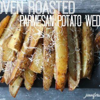 Oven Roasted Parmesan Potato Wedges