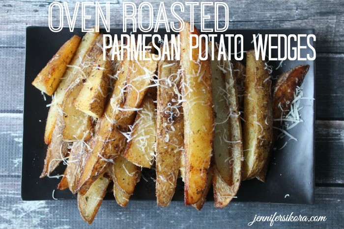 Oven Roasted Parmesan Potato Wedges