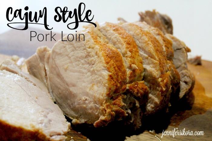 Cajun Style Pork loin