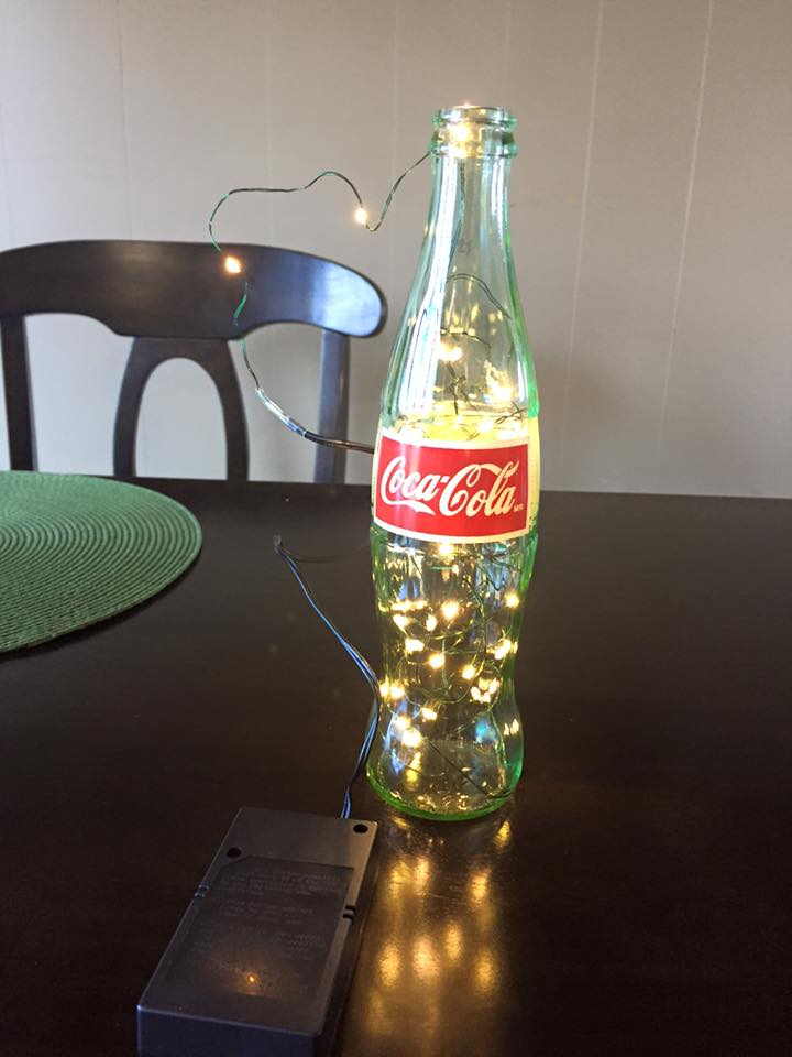 Coke Bottle Candles