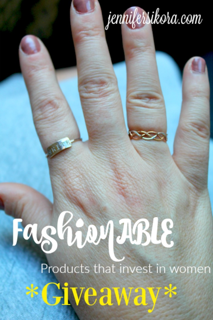 Fashionable giveaway