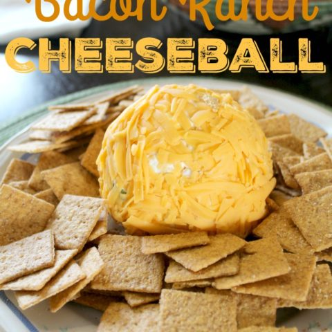 Jalapeno Bacon Ranch Cheeseball