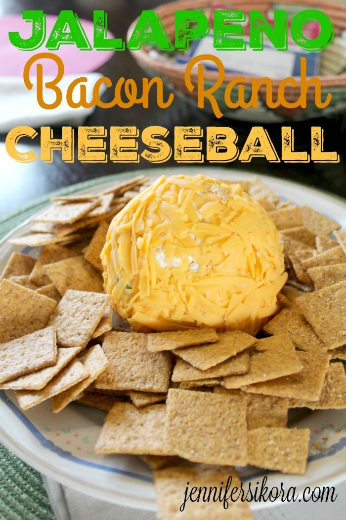 Jalapeno Bacon Ranch Cheeseball