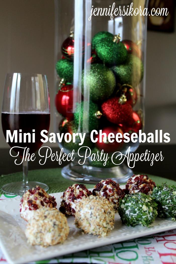 Mini Savory Cheeseballs