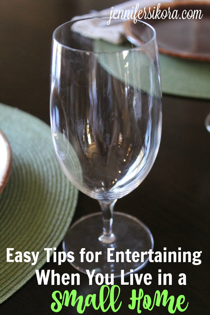 Small Entertaining in Your Home