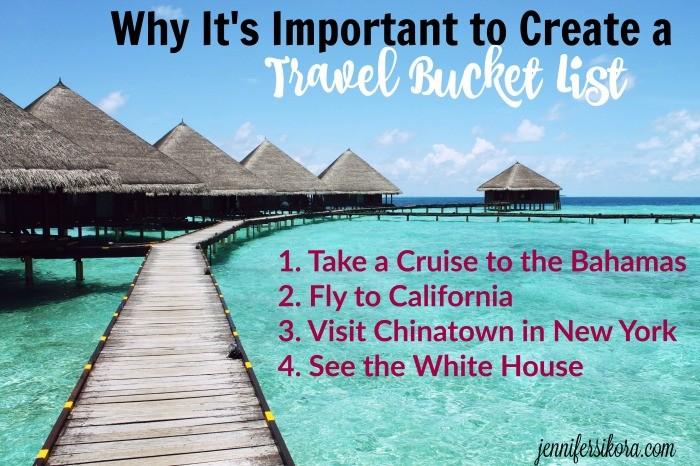 Creating a Travel Bucket List