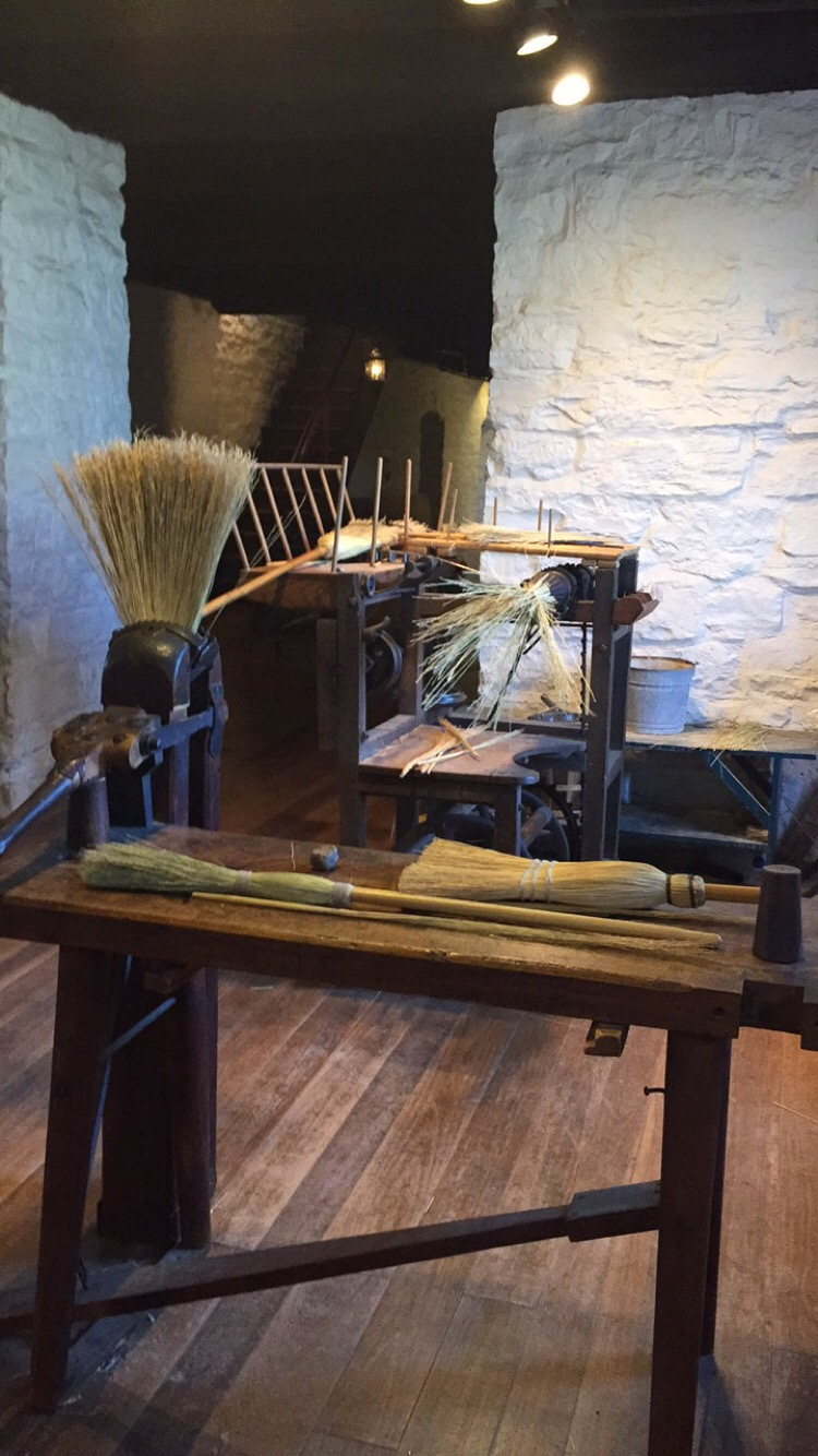 Broom Making Station