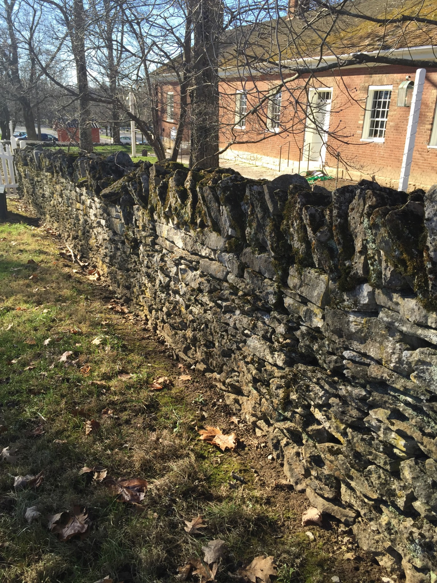 The Rock Wall at Shakertown Village