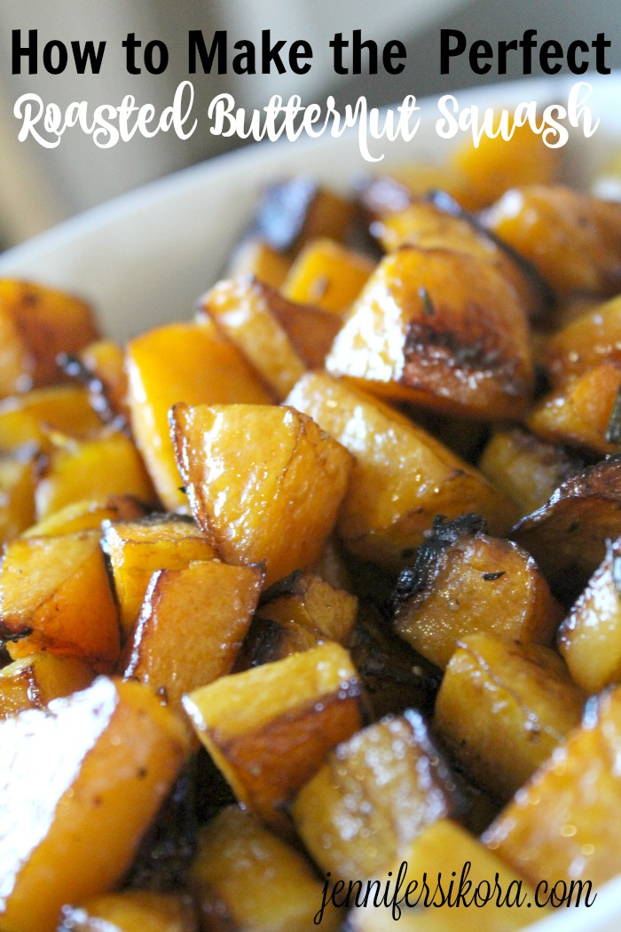 Do you k now how easy it is to make roasted butternut squash? I have a step by step tutorial to go from that hard oversized veggie to the perfect side dish in just about 25 minutes.