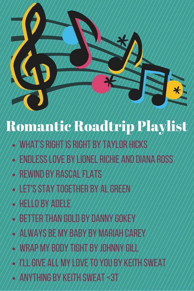 Romantic Roadtrip Playlist