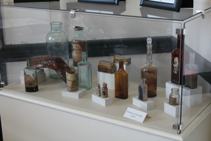 Shakertown Medicine bottles