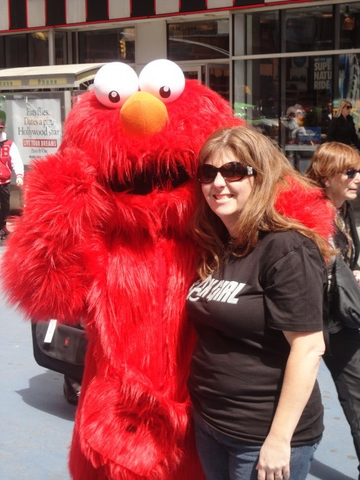Elmo in New York