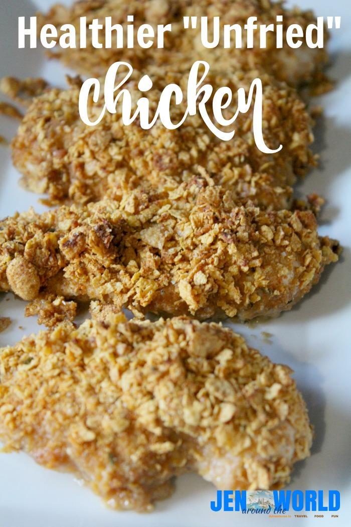 Healthier Unfried Chicken