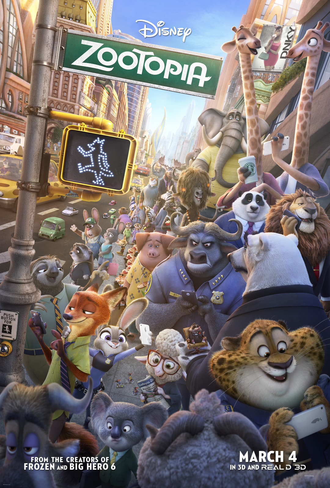 Zootopia opens March 4 2016