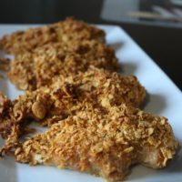 Healthier Unfried Chicken and How our Family Does Movie Nights