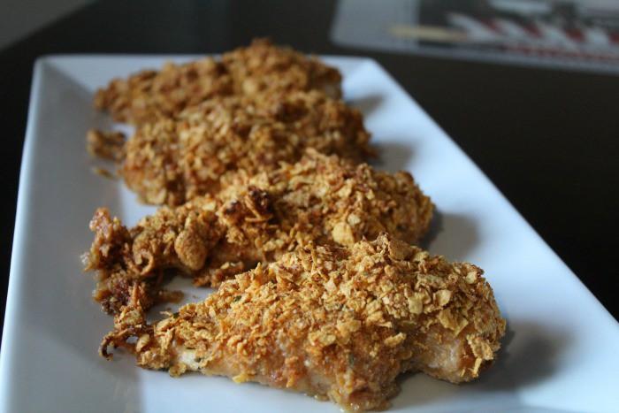 healthier unfried chicken featured
