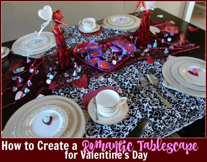 romantic table scape