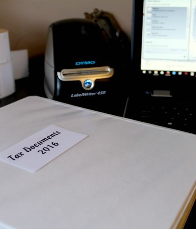 How to Organize Tax Documents Easily using the DYMO LabelWriter® 450