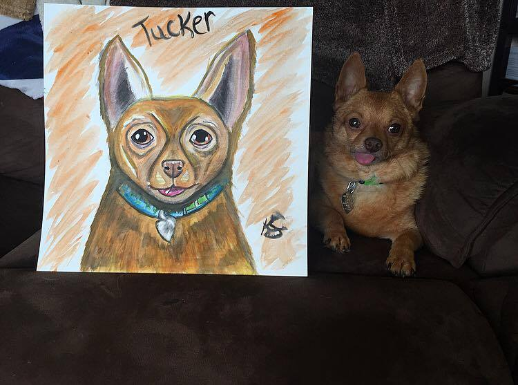 tucker water color painting