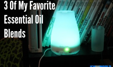 3 of My Favorite Essential Oil Blends (+ My Favorite Diffusing Tools)