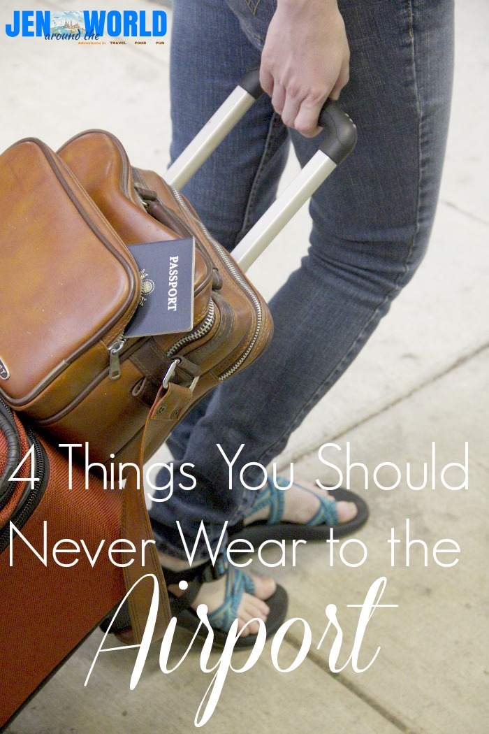 4 things you should never wear to the airport