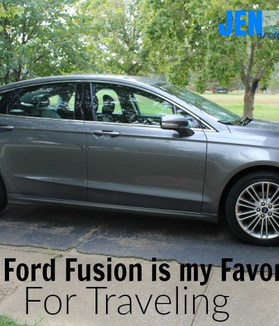 Why The Ford Fusion is My All Time Favorite Car for Traveling