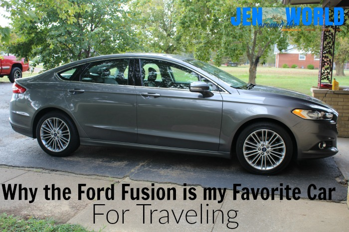 ford fusion for traveling