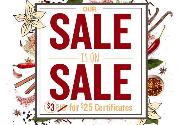 restaurant.com spring sale